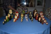 Vintage Russian Nesting Dolls Large Collection Most Purchased In Russia