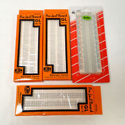 Lot Of 4 Kandh Gl-12 840 And Abra-12 830 Tie Points Solderless Breadboard Protoboard