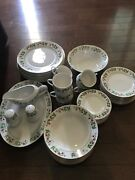 Gibson Everyday Christmas Charm Dishes Set, Discontinued