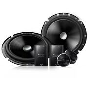 Pioneer Speaker 2 Way 6 Ts-c170br 220w Rms Kit Crossover 3 Day Delivery Usa