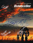 Bumblebee Cast X10 Authentic Hand-signed Dylan Oand039brien 11x14 Photo B