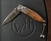 William Henry Studio Limited Edition Monarch Pipe Creek Knife 24/50