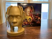 Astroworld Super Deluxe Album 3d Printed Glow In The Dark With Cd Brand New