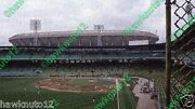 Comiskey Park Old And New-chicago-5 1/2 X 10 Glossy Photo Baseball Cpd58wg2