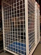 Security Cage Parts Cage Commercial Grade. Steel Framed Doors. 30x 48 X 58