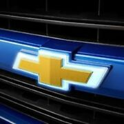Gm 84129740 Illuminated Front Grille Gold Bowtie Emblem New