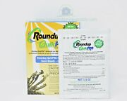 Roundup Quickpro 73.3 Glyphosate Weed And Root Killer 5 X 1.5oz Makes 5 Gallons