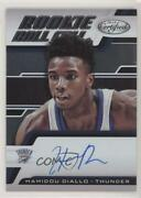 2018-19 Certified Roll Call Hamidou Diallo Rrc-hd Rookie Auto