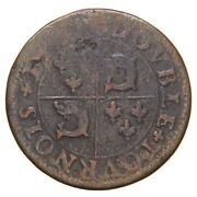 France - 1608-z Double Tournois - Henry Iv - Dauphine - Grenoble Mint - Rare