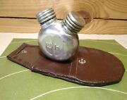 Dual Oil Can And Cover Mosin Nagant, Soviet Military Oil Can / Oiler