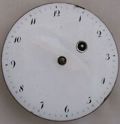 Repeater Key Wind Pocket Watch Movement And Dial 47,5 Mm. Balance Broken