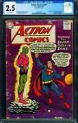 Action 242 Cgc 2.5 First Braniac-silver-age 1261405001