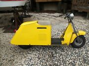 Antique And Vintage Cushman Model Electric Start Scooter-over The Top Restored