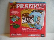 Prank Gift Box Sizzl Bacon Dryer Sheets 8 X 6 X 2 Any Occasion