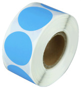 1 Adhesive Code Blue Dot Inventory Labels Coding Garage Sale Stickers 8 Rolls