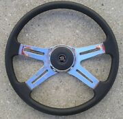 New 18 Inch Freightliner Leather Wrapped Steering Wheel Choose Order Code