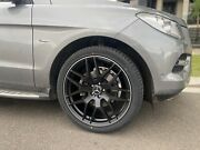 4x New Mercedes Gle Gle43 Coupe Rims 21 New Tyres Fits Ml63 Gl Ml Series Amg