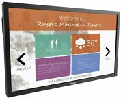 Philips 49bdl5055tt 49 Andrioid-powered 10-point Multi-touch Commercial Display