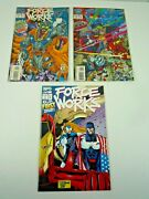 Marvel Comics / Force Works Comics 1993 3 Issues Includes Issue 1 With Pullout