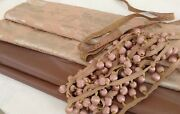 Exquisite Coordinated Collection Of Antique French Silk Textiles And Trims Lyon