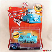 Disney Pixar Cars Toon Tokyo Mater With Oil Stains Deluxe 14 Diecast Tall Tales