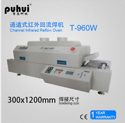 Puhui T960w Reflow Oven Bga Smt Sirocco And Rapid Infrared Soldering Machine J