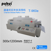 New Led T960e Reflow Oven Bga Smt Sirocco And Rapid Infrared Soldering Machine J