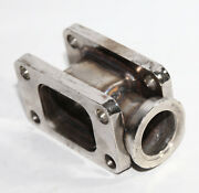 T3 To T3 Turbo Manifold Flange Adapter Conversion W/38mm Vband Wastegate Flange