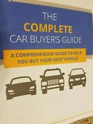 How To Buy A Car The Complete Car Buyerand039s Guide New Digital Pdf Free Shipping