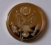 Eagle Seal Patriotic 4th July Pledge Oath Scout Loyalty Token Coin Medal Award U