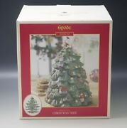 Spode Christmas Tree Figural 12 Cookie Jar New In Box