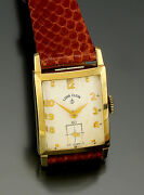 Vintage Elgin Gold Dress Watch   High 23 Jewel Movement With Hack Feature C1960s