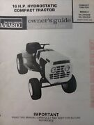 Montgomery Ward 16hp Tractor Owner And Twin Engine Service 2 Manual S Gil-33425a