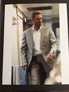 Tom Cruise Autographed 8 X 10 From Collateral Damage Signed 7/7/04 @ I, Robot