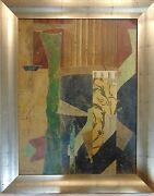 Jacques Lamy Abstract I Signed And Framed - 1993