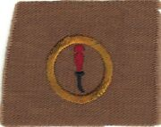 Boy Scout Leatherworking 3 Square Teens Merit Badge Type Aa Mint Gold Ring