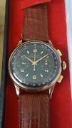 Dubey And Schaldenbrand Vintage Chronograph Manual Wind With Rare Dial V92