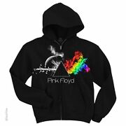 Pink Floyd-any Colour You Like-zipper Hoodie W/pockets M-l-xl-xxl Waters,gilmour