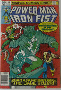 Power Man And Iron Fist 66 Dec 1980, Marvel, Vfn-nm, 2nd App. Of Sabretooth