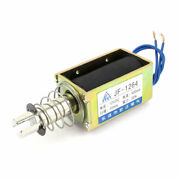 Dc12v 500ma 10mm 55n Pull Type Open Frame Actuator Solenoid Electromagnet