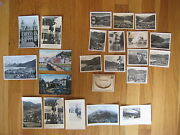 Huge Lot Of Vintage Austria Real Photo Postcards St Gilgen Am Abersee Kaiserl