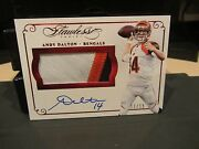 Panini Flawless Ruby On Card Autograph Jersey Bengals Andy Dalton 11/15 2015