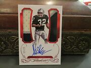 Panini Flawless Ruby On Card Autograph Jersey Raiders Marcus Allen 12/15 2015