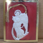 Lenox Christmas Ornament Angel Of Peace In Box