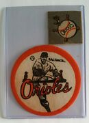 Rare Vintage Iron-ons Patches 2 And 4 Baltimore Orioles