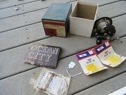 Ocean City Fortescue Fishing Reel Satin Finish With Original Box Lot12632