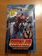 1995 Mcfarlane Toys Sentinel Youngblood Ultra Action Figure Moc