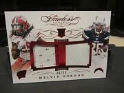 Panini Flawless Rookie Ruby Jersey Wisconsin Chargers Melvin Gordon 09/15 2015