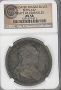 1783 Treaty Of Paris Medal Graded Au58 By Ngc Betts-612 Silver