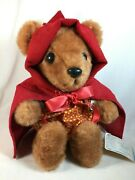 Vintage Fairy Tale Bears Collection Little Red Riding Hood - Trudy Toys 284 1982